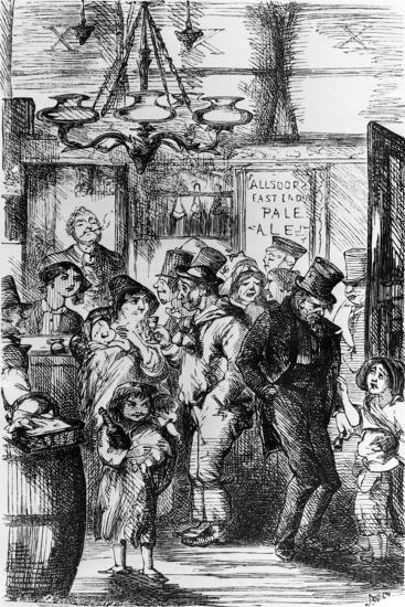 The Gin Palace--Giclee Print