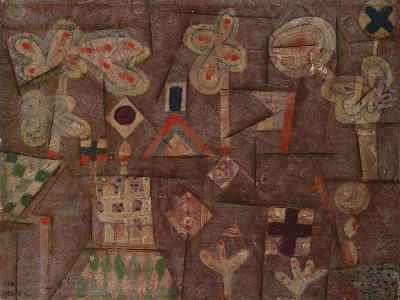 The Gingerbread House, 1925-Paul Klee-Giclee Print