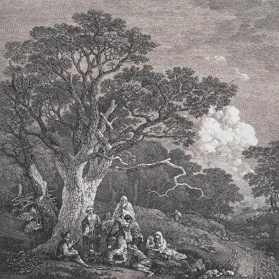 The Gipsies, C.1754-Thomas Gainsborough and Joseph Wood-Giclee Print