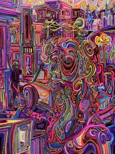 The Giraffe Lady-Josh Byer-Giclee Print