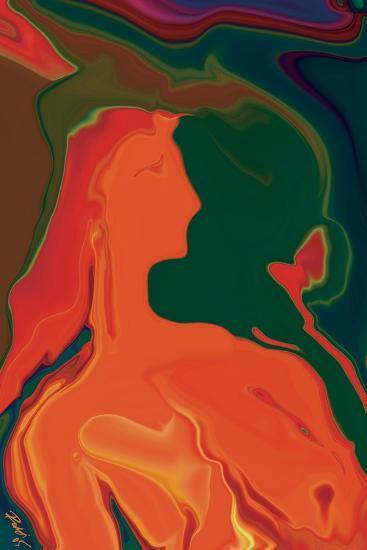 The Girl 4-Rabi Khan-Art Print