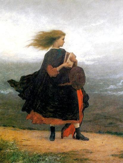The Girl I Left Behind Me Giclee Print By Eastman Johnson Art