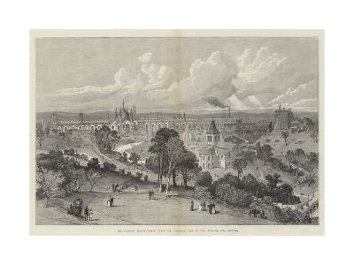 The Glasgow International Exhibition, General View of the Building and Grounds--Giclee Print