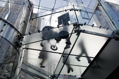 The Glass Apple Store On Fifth Avenue in New York City-Ira Block-Photographic Print