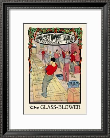 The Glass Blower Art Print H O Kennedy Art Com