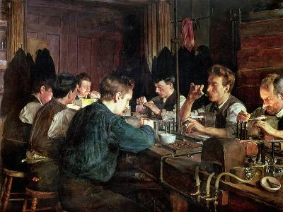 The Glass Blowers, 1883-Charles Frederic Ulrich-Giclee Print