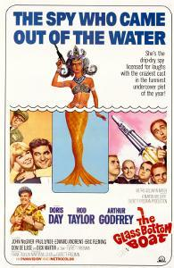 The Glass Bottom Boat, with Edward Andrews, Doris Day, Arthur Godfrey, and Rod Taylor, 1966