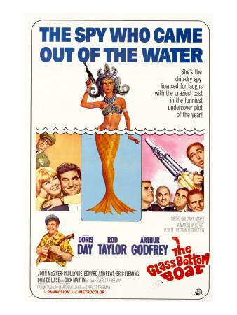 the glass bottom boat 1966 cast