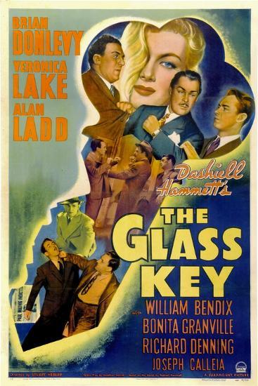 The Glass Key, William Bendix, Veronica Lake, Brian Donlevy, Alan Ladd, 1942--Art Print