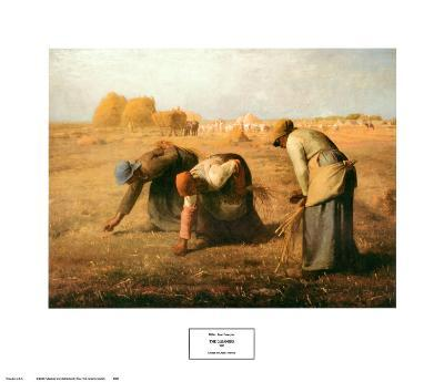The Gleaners, 1857-Jean-Fran?ois Millet-Art Print