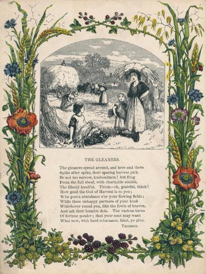 'The Gleaners' by Thomson, c1900-Unknown-Giclee Print