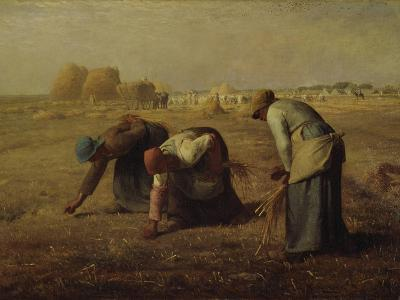 The Gleaners (Les Glaneuses), 1857-Jean-Fran?ois Millet-Giclee Print