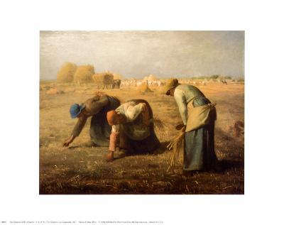 The Gleaners-Jean-Fran?ois Millet-Art Print