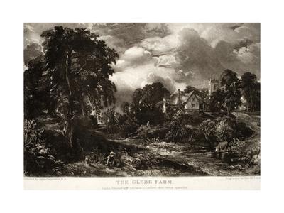 The Glebe Farm-John Constable-Giclee Print