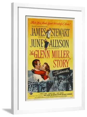 The Glenn Miller Story, 1953, Directed by Anthony Mann--Framed Giclee Print