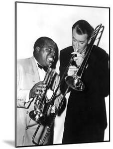 The Glenn Miller Story, Louis Armstrong, James Stewart, 1954