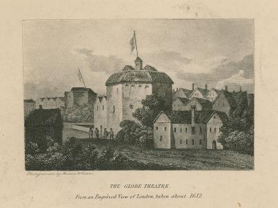 The Globe Theatre, Bankside, Southwark, London--Giclee Print