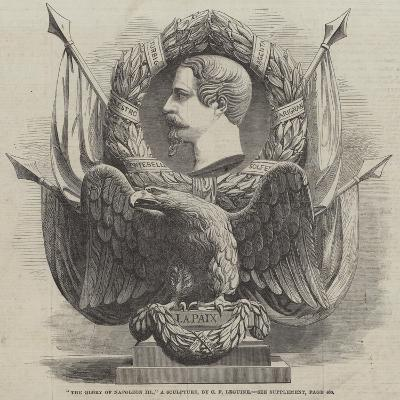 The Glory of Napoleon Iii, a Sculpture, by C F Leguine--Giclee Print
