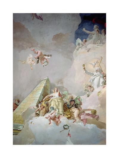 The Glory of Spain-Giovanni Battista Tiepolo-Giclee Print