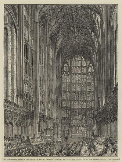 The Gloucester Festival--Giclee Print