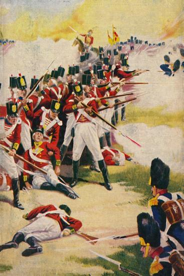 'The Gloucestershire Regiment. Back-to-Back at Alexandria', 1801, (1939)-Unknown-Giclee Print