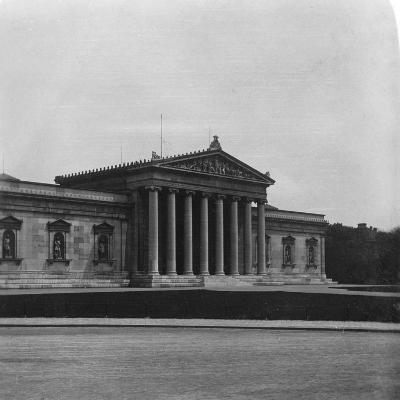 The Glyptothek, Munich, Germany, C1900s-Wurthle & Sons-Photographic Print