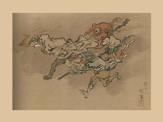 The Goblin Flight, late 18th-early 19th century, (1886)-Unknown-Giclee Print