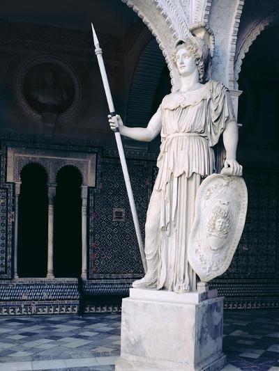 The Goddess Athena, from the Main Courtyard of the Casa De Pilatos, Sevilla (Photo)--Giclee Print