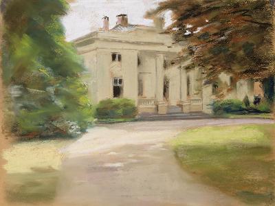 The Godeffroy Country House in Hirschpark Von Nienstedten on the Elbe, 1902-Max Liebermann-Giclee Print