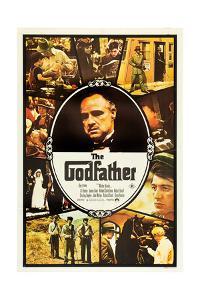 The Godfather, Marlon Brando, Al Pacino on Australian Poster Art, 1972