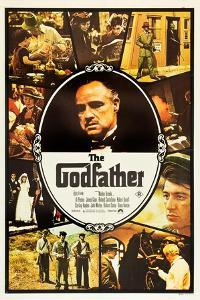 The Godfather, Marlon Brando, Al Pacino on Australian Poster Art, 1972