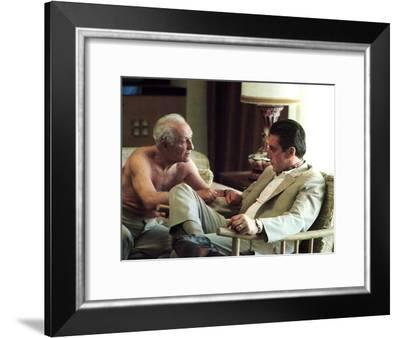 The Godfather: Part II, Lee Strasberg, Al Pacino, 1974--Framed Photo