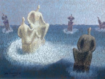 The Gods Abandoned, 1956-John Armstrong-Giclee Print