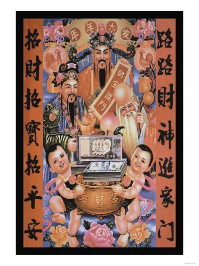 The Gods of Wealth--Art Print