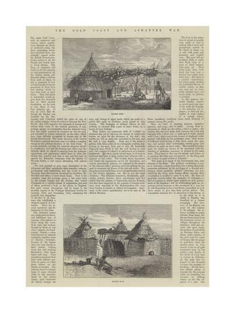 The Gold Coast and Ashantee War--Giclee Print