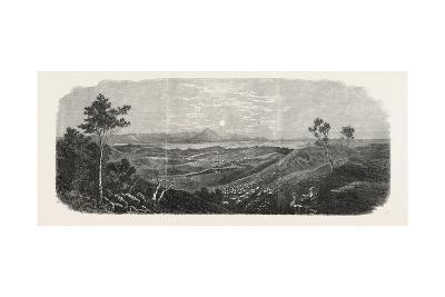 The Gold Fields of Australia: Mount Ararat, 1865--Giclee Print