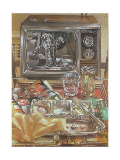 The Gold Rush, 1979-Sandra Lawrence-Giclee Print