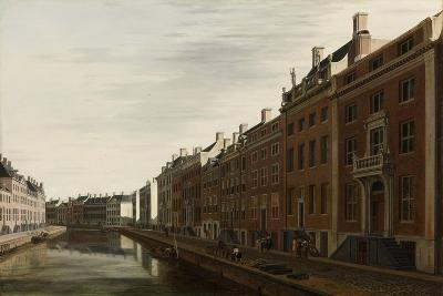 The 'Golden Bend' in the Herengracht, Amsterdam as Seen from the West, 1672-Gerrit Adriaensz Berckheyde-Giclee Print