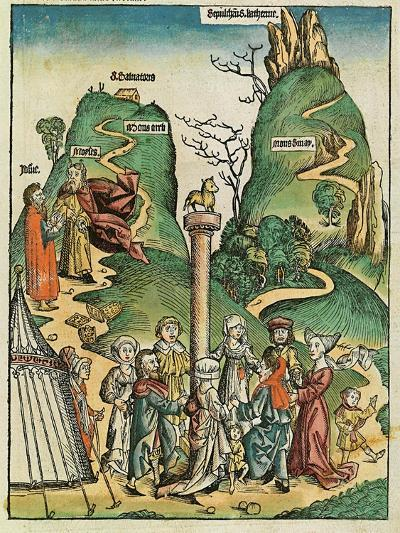The Golden Calf, Published in the Nuremberg Chronicle, 1493--Giclee Print