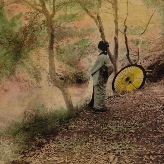 'The Golden Days of Autumn in Japan', 1896-Unknown-Photographic Print
