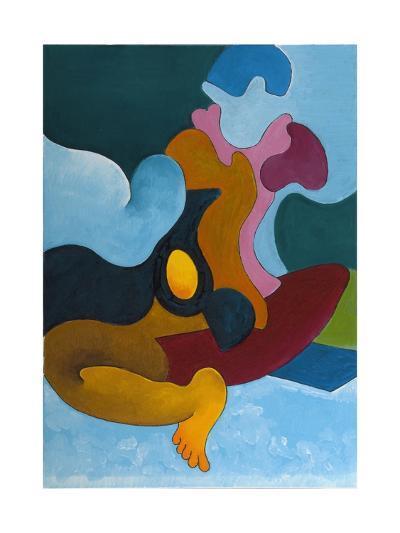 The Golden Egg, 2008-Jan Groneberg-Giclee Print