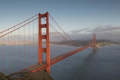 The Golden Gate Bridge in San Francisco, California-Jeff Mauritzen-Photographic Print