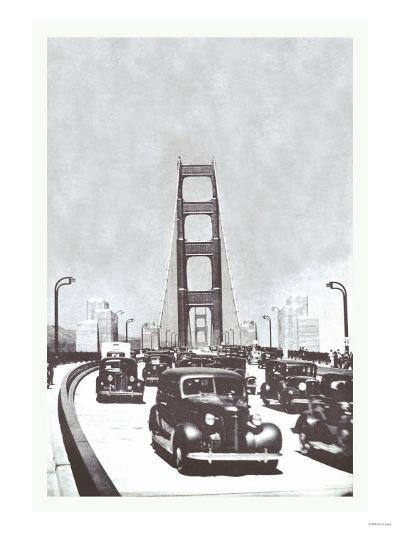 The Golden Gate Bridge, San Francisco, California--Art Print