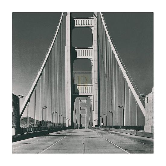 The Golden Gate Bridge, Summer AM-The Chelsea Collection-Art Print