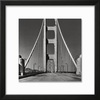 The Golden Gate Bridge, Summer AM-The Chelsea Collection-Framed Giclee Print
