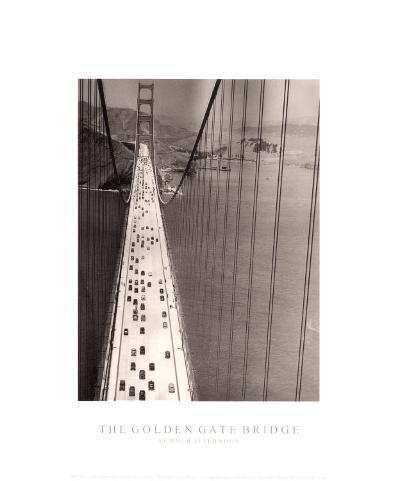 The Golden Gate Bridge-The Chelsea Collection-Art Print
