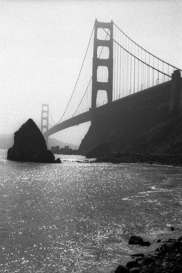 The Golden Gate Bridge-Lance Kuehne-Photographic Print