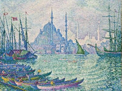 The Golden Horn, Minarets, 1907-Paul Signac-Giclee Print