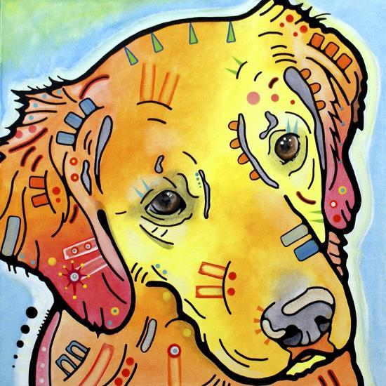 The Golden(ish) Retriever-Dean Russo-Giclee Print