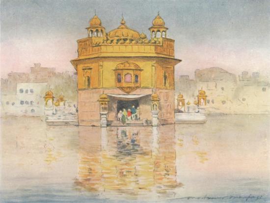 'The Golden Temple, Amritsar', 1905-Mortimer Luddington Menpes-Giclee Print